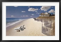Framed Beach House View