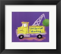 Full Service Wrecking Framed Print