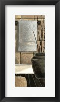 Framed Modern Bath Panel II
