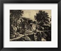 Framed Wensley Mill
