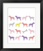 Animal Sudoku in Pink III Framed Print