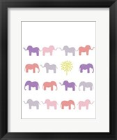 Animal Sudoku in Pink IV Framed Print