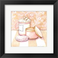 Posh Powder Room II Framed Print