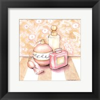 Posh Powder Room III Framed Print