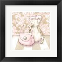 Posh Powder Room IV Framed Print