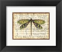 Dragonfly Harmony II Framed Print
