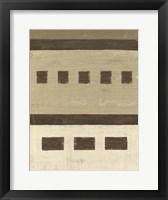 Quadrate III Framed Print