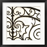 Iron Gate I Framed Print