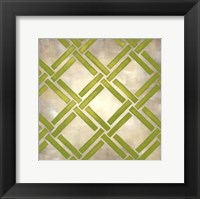 Classical Symmetry III (Le) Framed Print