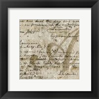 Renaissance Composition IV Framed Print