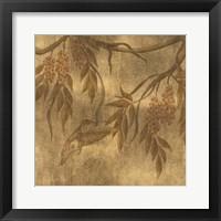 Framed Wisteria Vines I