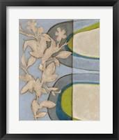 Botanical Prose I Framed Print