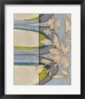 Botanical Prose II Framed Print