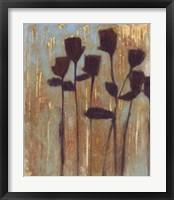 Framed Rustic Blooms I
