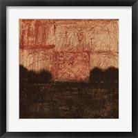 Weathered Landscape II Framed Print