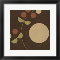Autumn Orbit I Framed Print