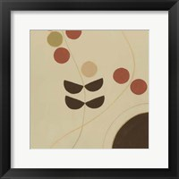 Autumn Orbit IV Framed Print
