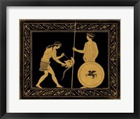 Framed Etruscan Scene IV