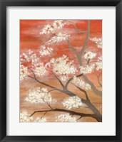 Mandarin Mist I Framed Print