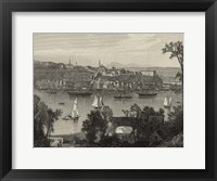 Framed Scenic City Views I