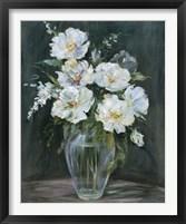 Framed Silver Flowers