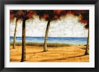 Framed Beach Scene II