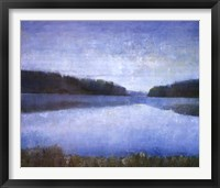 Framed Silent Lake