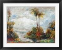 Framed Tropical Inlet