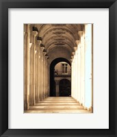Passage Marly Framed Print