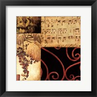 Autumn Waltz I Framed Print