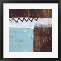 Fish Pier I Framed Print