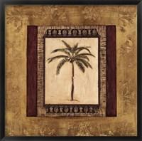 Framed Stately Palm II