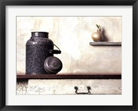 Jug with Onion Framed Print