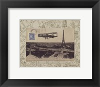 Destination Paris III Framed Print
