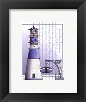 Framed South Island Lighthouse