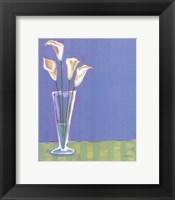 Framed Lilies in Vase