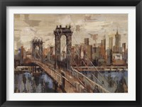 New York View Framed Print