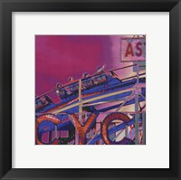 Framed Ride the Cyclone in Pink
