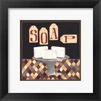 Soap Dish Framed Print