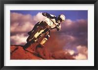 Motocross II Framed Print