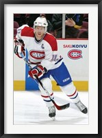 Framed Canadiens - Koivu