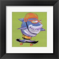 Framed Shark Attack