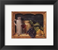 Framed Vino Splendore I