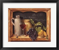 Vino Splendore I Framed Print