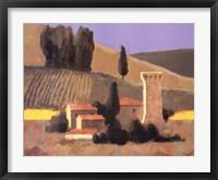 Framed Castellina