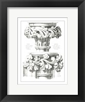 Framed English Capitals