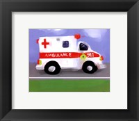 Framed Ambulance