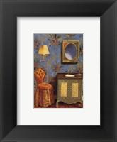 Framed Le Bain Bleu II