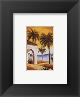 Key West Breeze I Framed Print
