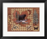 Bear Leaf Framed Print
